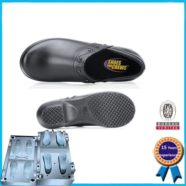 Steel Full Shoe Plastic Shoe Mold High Strength Long Working Life
