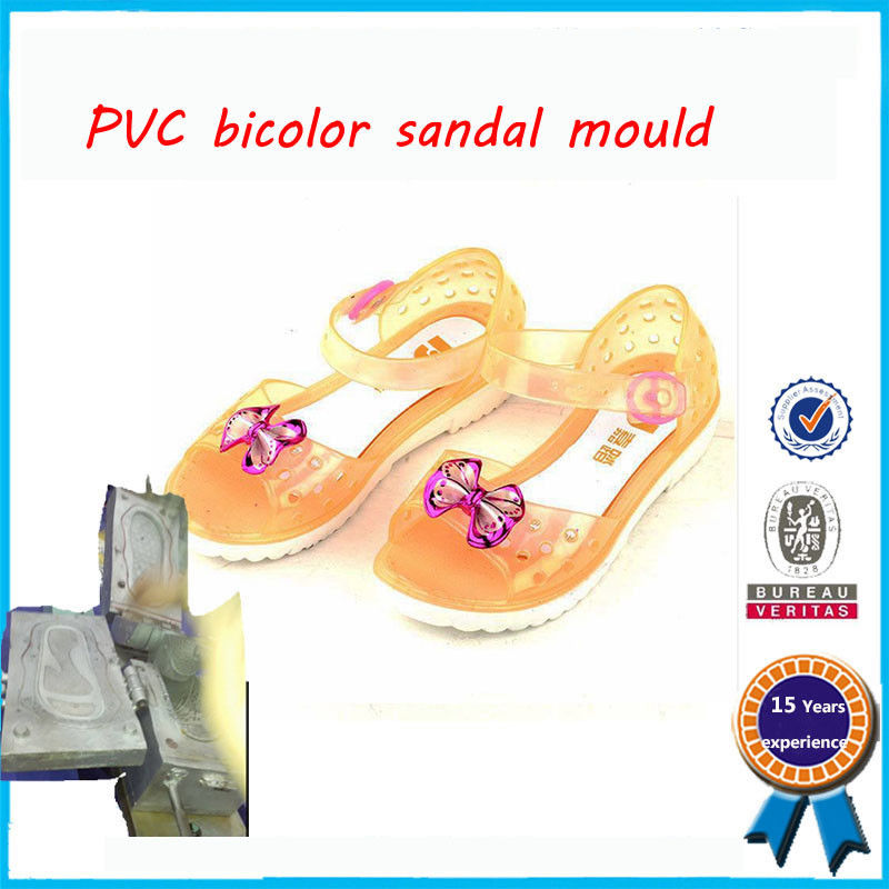Colorful Children PVC Shoe Mold Fashionable And Original Design