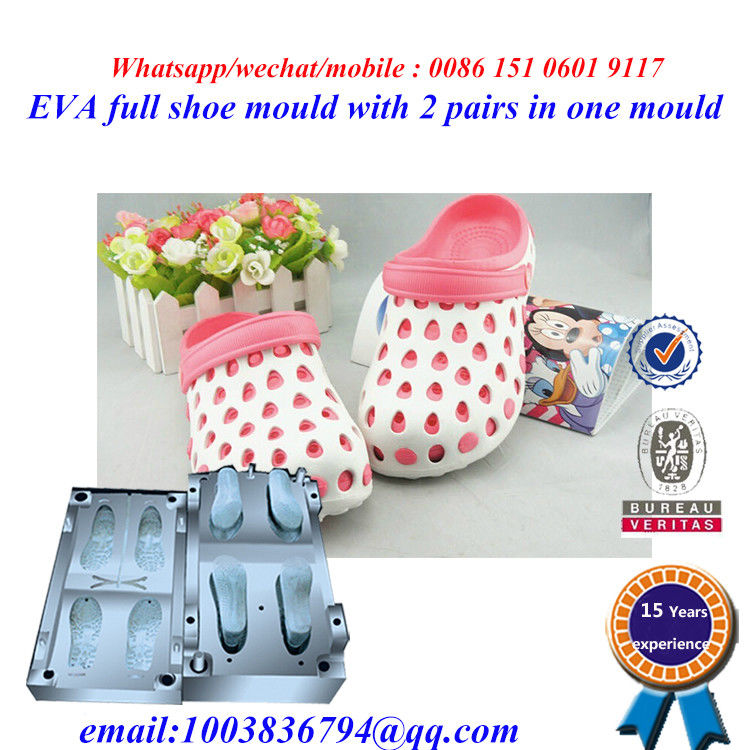 High Strength Flip Flop Mold Die Casting Two Pairs In One Mold