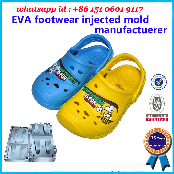 Cute Children Injection Molded EVA 25  - 49 Wide Size Range Customized Color